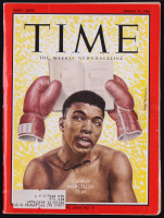 "Cassius Clay ""Muhammad Ali"" Signed 1963 Time Magazine (JSA LOA)"