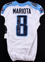 Marcus Mariota Signed Titans 2015 Game-Used Jersey (PSA COA)