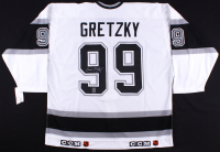 Wayne Gretzky Signed Kings Captain Jersey (Gretzky COA)