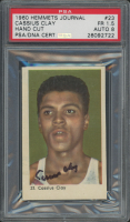 """Cassius Clay """"Muhammad Ali"""" Signed 1960 Hemmets Journal #23 RC (Autograph Graded 8) (PSA 1.5)"""