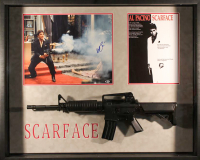 "Al Pacino Signed ""Scarface"" 33x41x4 Custom Framed Shadowbox Display (Beckett COA)"