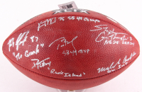 "Super Bowl XLIX ""The Duke"" Limited Edition Official NFL Game Ball Signed by (6) with Tom Brady, Rob Gronkowski, Darrelle Revis, Vince Wilfork, Stephen Gostkowski & Malcolm Butler with Inscriptions (TriStar & Fanatics)"