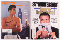 Lot of (2) Muhammad Ali Signed First and Last 1963 & 1989 Sports Illustrated Magazines (PSA LOA)