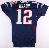 Tom Brady 2001 Game-Used Patriots Home Jersey (Mears LOA)