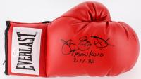 "James Buster Douglas Signed Everlast Boxing Glove Inscribed ""Tyson KO 10 2-11-90"" (JSA COA)"