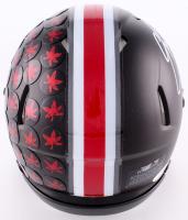 """Eddie George Signed Ohio State Custom Matte Black Speed Mini-Helmet Inscribed """"Heisman 1995"""" (JSA COA) at PristineAuction.com"""
