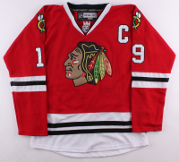 Jonathan Toews Signed Blackhawks Captains Jersey (JSA COA) at PristineAuction.com