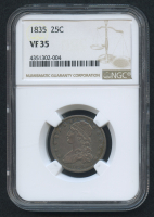 1835 25¢ Capped Bust Quarter (NGC VF 35)