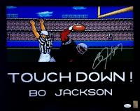 """Bo Jackson Signed Raiders """"Tecmo Bowl"""" 16x20 Photo (Jackson Hologram & JSA Hologram)"""