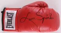 Leon Spinks Signed Everlast Boxing Glove (JSA COA)