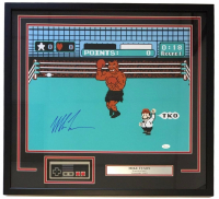 """Mike Tyson Signed """"Punch Out"""" 24x26 Custom Framed Photo Display with Nintendo NES Controller (JSA COA) at PristineAuction.com"""