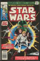 Star Wars 1977 Issue #1 Marvel Comic Book