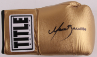 Marco Antonio Barrera Signed Title Boxing Glove (JSA COA)