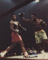 Muhammad Ali & Joe Frazier Signed 8x10 Photo (JSA LOA)