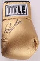 Pipino Cuevas Signed Title Boxing Glove (JSA COA)