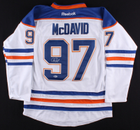 Connor McDavid Signed Oilers Captains Reebok Jersey (Beckett COA)