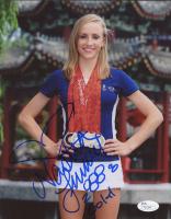 Nastia Liukin Signed 2008 Bejing Olympics 8x10 Photo with Inscription (JSA COA)