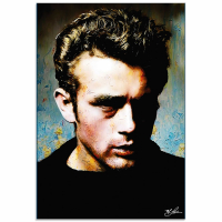 """""""James Dean Gentle Trust"""" 22x32 Contemporary Hollywood Pop Art, Ltd. Ed. Giclee on Glossy Acrylic by Mark Lewis at PristineAuction.com"""