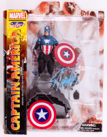 "Stan Lee Signed ""Captain America"" Marvel Select Action Figure (Radtke COA & Lee Hologram)"