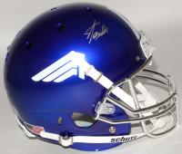 """Stan Lee Signed """"Captain America"""" Full-Size Helmet (Lee Hologram)"""