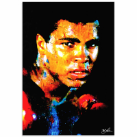 """Muhammad Ali Affirmation Realized"" 22x32 Contemporary American Icon Pop Art, Ltd. Ed. Giclee on Glossy Acrylic by Mark Lewis at PristineAuction.com"