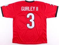 Todd Gurley Signed Georgia Bulldogs Jersey (PSA COA)