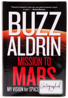 """Buzz Aldrin Signed """"Mission To Mars"""" Hardcover Book (JSA COA)"""