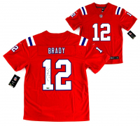 Tom Brady Signed New England Patriots Jersey (TriStar Hologram) at PristineAuction.com