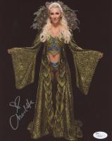 Charlotte Flair Signed WWE 8x10 Photo (JSA COA)