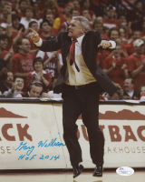 """Gary Williams Signed 8x10 Photo Inscribed """"HOF 2014"""" (JSA COA) at PristineAuction.com"""
