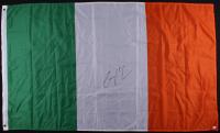Conor McGregor Signed 35.5x60 Irish Flag (JSA COA)