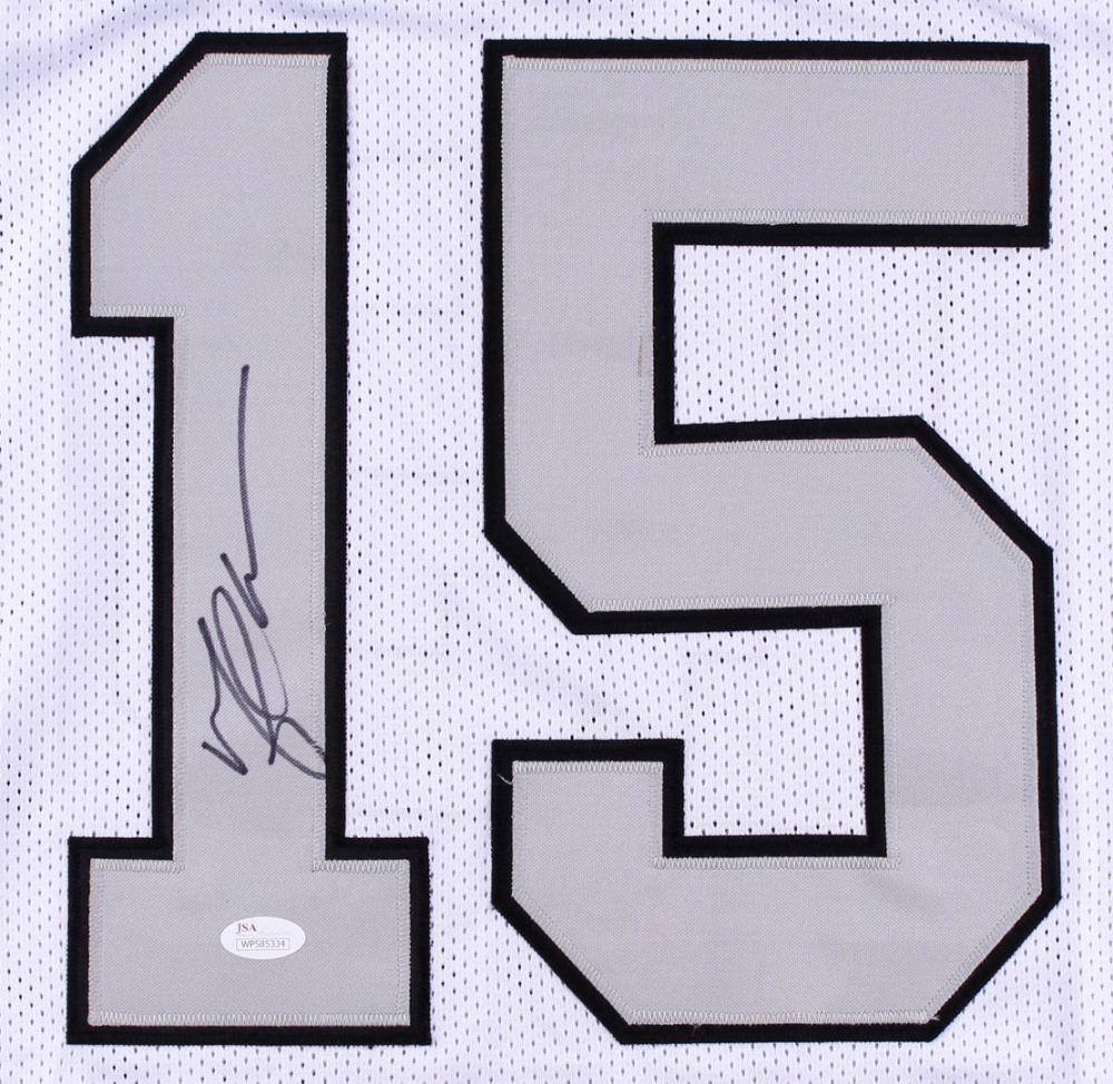 Michael Crabtree Signed Raiders Color Rush Jersey (JSA COA ...
