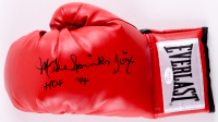 """Mike Spinks Signed Everlast Boxing Glove Inscribed """"Jinx"""" & """"HOF '94"""" (JSA COA)"""