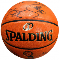 Stephen Curry & Kevin Durant Signed LE 2016 NBA Finals Basketball (Panini COA & Steiner COA)