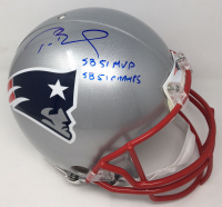 "Tom Brady Signed Limited Edition Patriots Full-Size Authentic On-Field Helmet ""SB 51 MVP"" & ""SB 51 Champs"" (TriStar Hologram)"