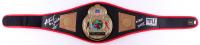 "Riddick ""Big Daddy"" Bowe Signed Title Boxing Champion Replica Belt Inscribed ""HOF 2015"" (JSA COA)"