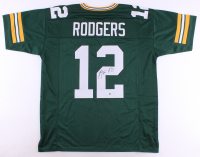 Aaron Rodgers Signed Jersey (Steiner Hologram) at PristineAuction.com