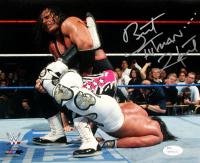 "Bret ""Hitman"" Hart Signed 8x10 Photo (JSA COA) at PristineAuction.com"