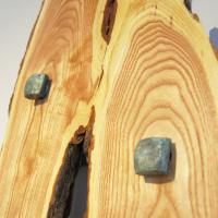 """Reaching"" 16x110x5 Original Wood Art by Adam Schwoeppe at PristineAuction.com"