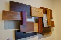 """""""Artemisia"""" 24x48x4 Original Wood & Metal Art by Adam Schwoeppe"""