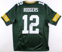 Aaron Rodgers Signed Green Bay Packers Jersey (Steiner Hologram) at PristineAuction.com