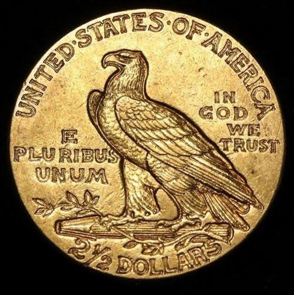 1915 2 50 Indian Head Quarter Eagle Gold Coin High Grade