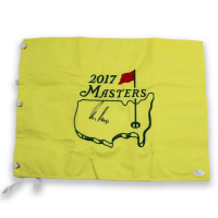 Gary Player Signed 2017 Masters Pin Flag (JSA Hologram)