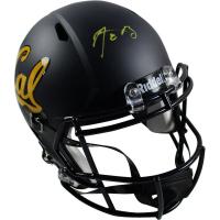 Aaron Rodgers Signed California Golden Bears Full-Size Matte Black Helmet (Steiner COA)