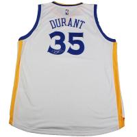 Kevin Durant Signed Warriors Swingman Jersey (Panini COA & Steiner COA)