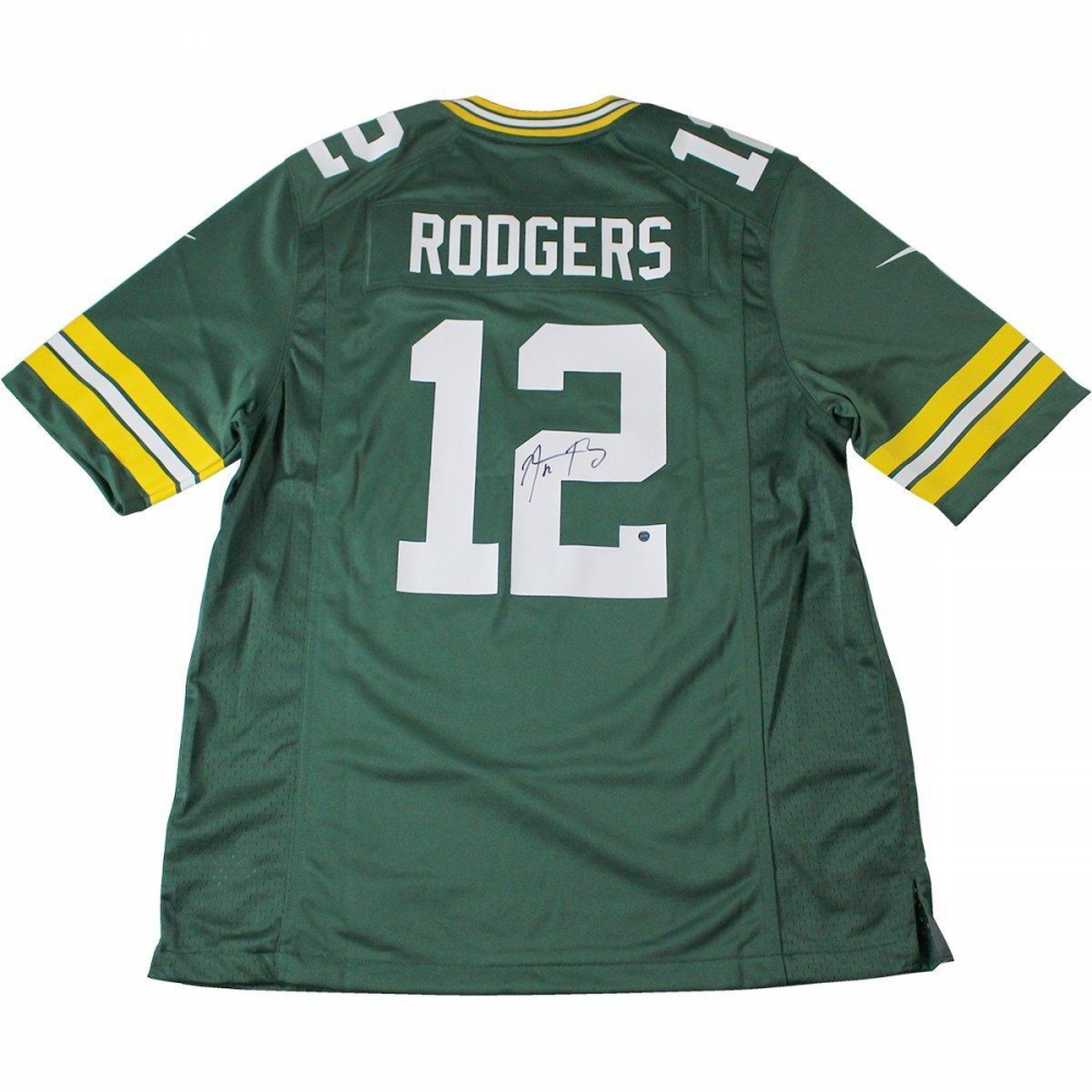 8f698d4af5a Aaron Rodgers Signed Packers Jersey (Steiner COA) at PristineAuction.com