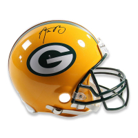 Aaron Rodgers Signed Packers Full Size Authentic Proline Helmet (Steiner COA) at PristineAuction.com