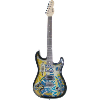 Stephen Curry Signed Northender Golden State Warriors Electric Guitar (Steiner COA)