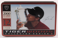 Tiger Woods 2000 U.S. Open Champion 12 Under Collector Series Golf Balls & Tin at PristineAuction.com