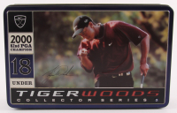 Tiger Woods 2000 82nd PGA Champion 18 Under Collector Series Golf Balls & Tin at PristineAuction.com